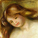 Pierre-Auguste Renoir - Bust of a Young Nude - около 1902-1903