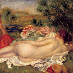 Two Bathers - 1896, Pierre-Auguste Renoir