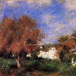 The Garden of Essai in Algiers – 1881, Pierre-Auguste Renoir