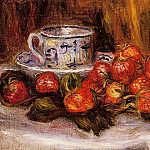 Still Life with Strawberries - 1905, Pierre-Auguste Renoir