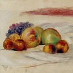 Apples and Grapes - 1910, Pierre-Auguste Renoir