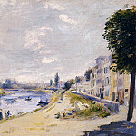 The Banks of the Seine, Bougival – 1875, Pierre-Auguste Renoir