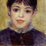 Smiling Young Girl - 1878, Pierre-Auguste Renoir