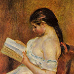 Young Girl Reading, Pierre-Auguste Renoir