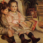 The Children of Martial Caillebotte - 1895, Pierre-Auguste Renoir