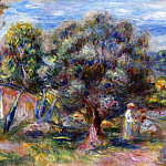 Pierre-Auguste Renoir - Aloe, Picking at Cagnes