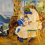 Childrens Afternoon at Wargemont – 1884, Pierre-Auguste Renoir
