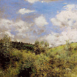 Strong Wind – 1872, Pierre-Auguste Renoir