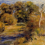 The Clearing, Pierre-Auguste Renoir