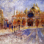 Пьер Огюст Ренуар - The Piazza San Marco, Venice - 1881