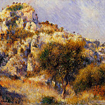 Rocks at lEstaque, Pierre-Auguste Renoir