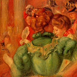 The Loge – 1897, Pierre-Auguste Renoir