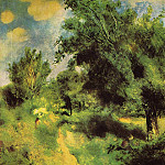 Orchard at Louveciennes – the English Pear Tree – 1875, Pierre-Auguste Renoir