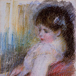 Seated Woman - 1879, Pierre-Auguste Renoir