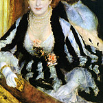 Pierre-Auguste Renoir - The Theater Box - 1874