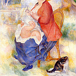 Motherhood – 1886, Pierre-Auguste Renoir