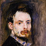 Self Portrait - 1875, Pierre-Auguste Renoir
