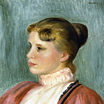 Portrait of a Woman - 1897, Pierre-Auguste Renoir