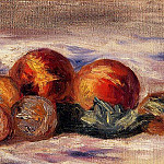Still Life with Peaches - 1916, Pierre-Auguste Renoir