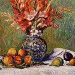 Flowers and Fruit - 1889, Pierre-Auguste Renoir