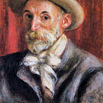 Self Portrait - 1910, Pierre-Auguste Renoir