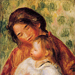 Woman and Child, Pierre-Auguste Renoir