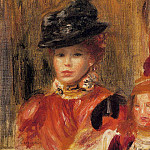 Pierre-Auguste Renoir - Madame Le Brun and Her Daughter
