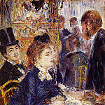 Pierre-Auguste Renoir - The Cafe - 1874 - 1875