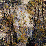 The Path through the Forest - 1871, Pierre-Auguste Renoir