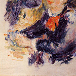 Pierre-Auguste Renoir - At the Milliners (study) - 1878