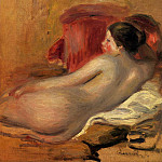 Reclining Model - 1906, Pierre-Auguste Renoir
