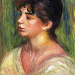 Pierre-Auguste Renoir - Portrait of a Young Woman