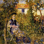 Nini in the Garden – 1876, Pierre-Auguste Renoir
