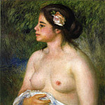 Пьер Огюст Ренуар - Gabrielle with a Rose (also known as The Sicilian Woman) - 1899