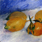 Still Life with Lemons and Oranges - 1881, Pierre-Auguste Renoir