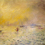 View of Venice, Fog - 1881, Pierre-Auguste Renoir