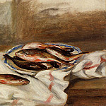Пьер Огюст Ренуар - Still Life with Fish - 1890
