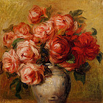 Still Life with Roses, Pierre-Auguste Renoir