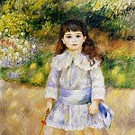 Child with a Whip - 1885, Pierre-Auguste Renoir