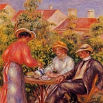 Pierre-Auguste Renoir - The Cup of Tea - 1906 - 1907