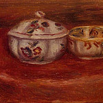 Пьер Огюст Ренуар - Sugar Bowl and Earthenware Bowl