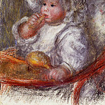 Jean Renoir in a Chair - 1895, Pierre-Auguste Renoir