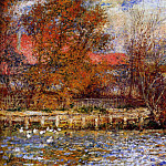 The Duck Pond - 1873, Pierre-Auguste Renoir