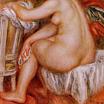 Seated Nude – 1913, Pierre-Auguste Renoir