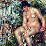 Pierre-Auguste Renoir - Bather - ок 1913-1914