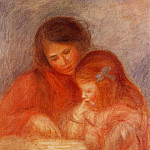 The Lesson - 1900, Pierre-Auguste Renoir