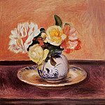 Vase of Flowers, Pierre-Auguste Renoir