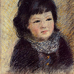 Portrait of a Child - 1879, Pierre-Auguste Renoir