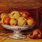 Still Life with Apples and Pears – 1903, Pierre-Auguste Renoir