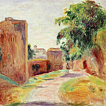 Walls in Spain – 1892, Pierre-Auguste Renoir